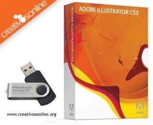 Adobe Illustrator CS3 en Creativos Online