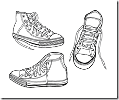 Illustrated_Vector_Sneakers