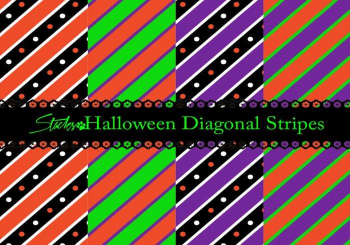 Diagonal Halloween