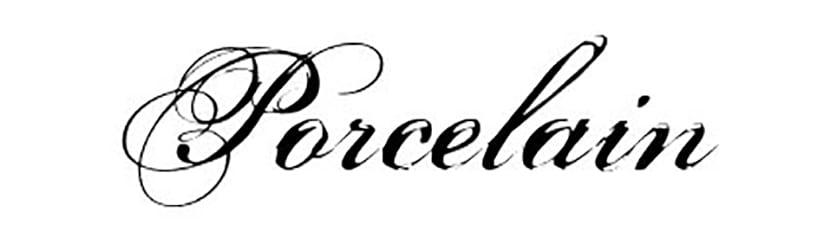 Porcelain-font