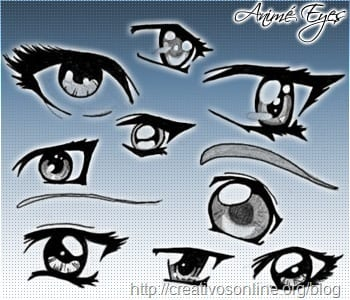 pinceles_photoshop_ojos_anime
