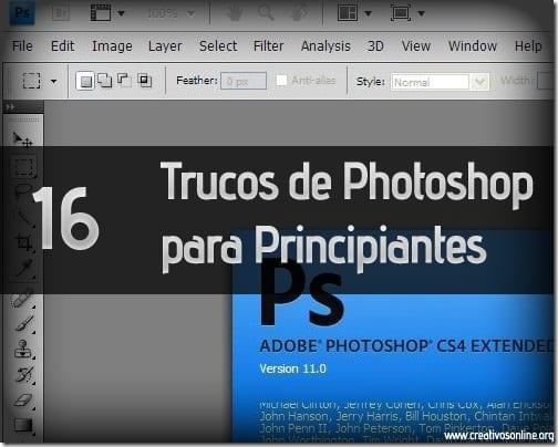 trucos thumb 16 Trucos de Photoshop para Principiantes