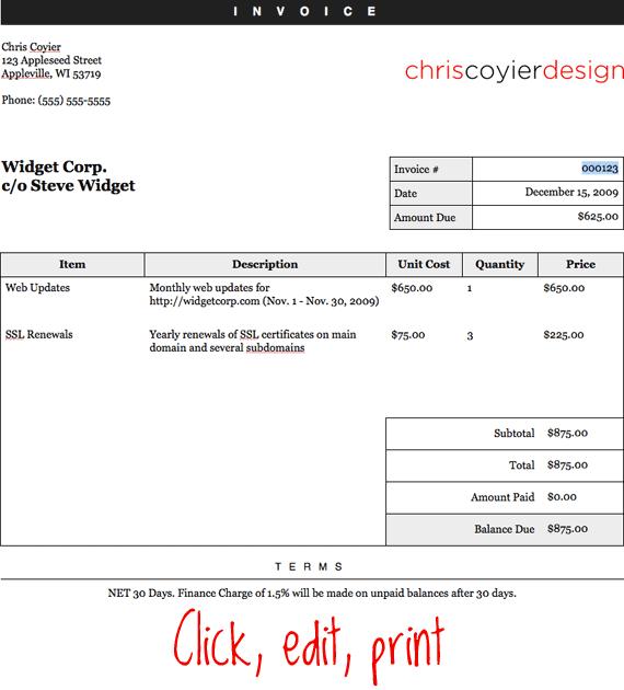 click-edit-print