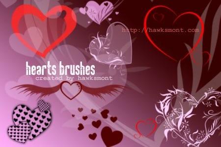corazones_pinceles_photoshop
