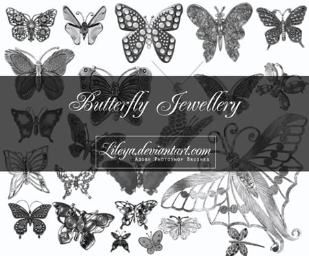 creativosonline_brushes_butterfly_pincel_mariposa