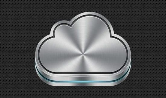 Icono icloud Apple