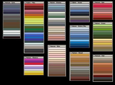11 paletas de color para gimp - Paleta de colores titanlux ...