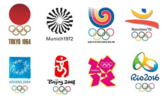 Los Logotipos De Las Olimpiadas A Lo Largo De La Historia