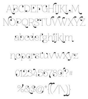 Tipografías creativas y originales gratis