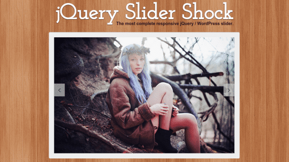 jQuery SliderShock Creativos Online