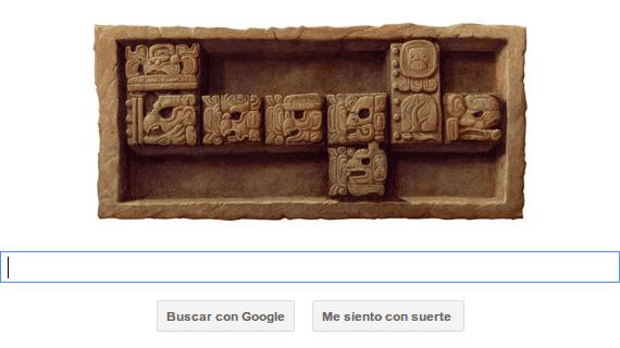 Doodle del calendario maya