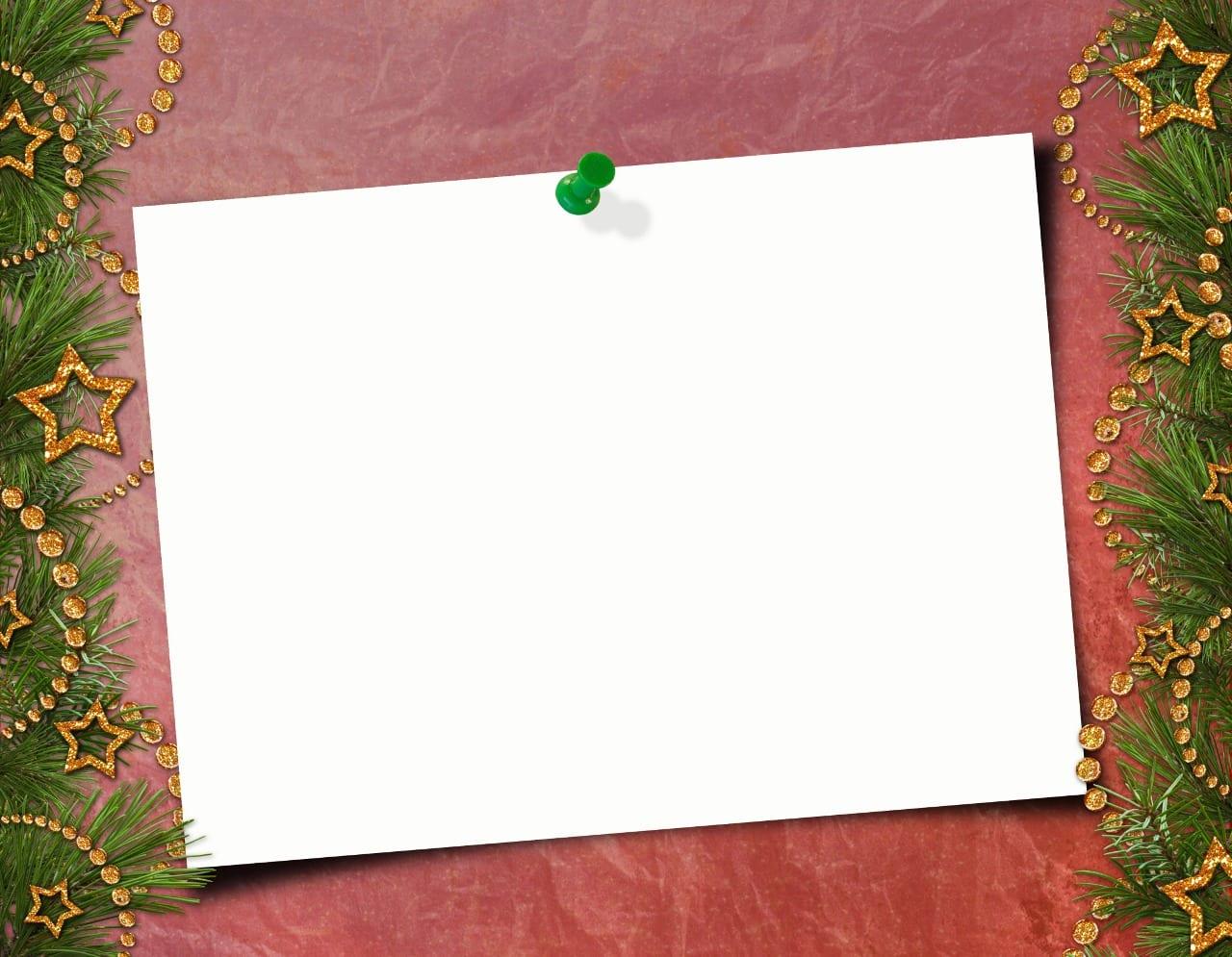 Tarjetas Navideñas Listas Para Imprimir