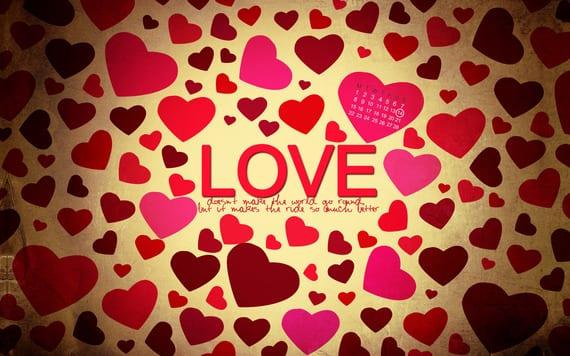 Fondos de pantalla para San Valentín