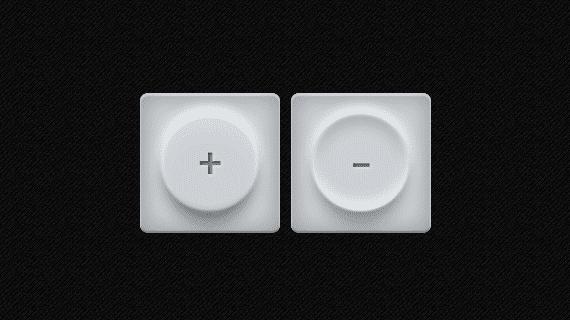 Botones de hule con CSS