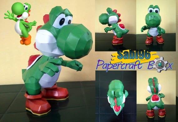 Yoshi Papercraft