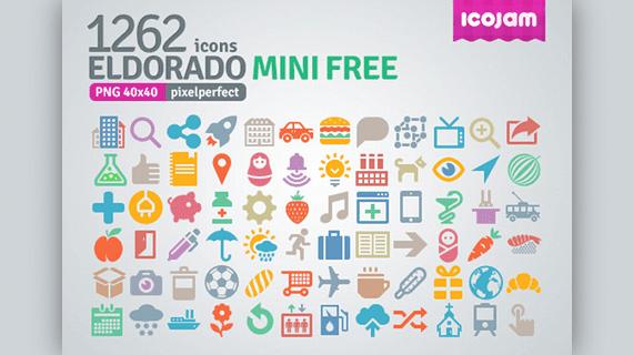Iconos minimalistas Eldorado Mini Free