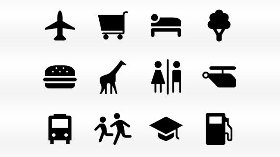 Maki, iconos para mapas web