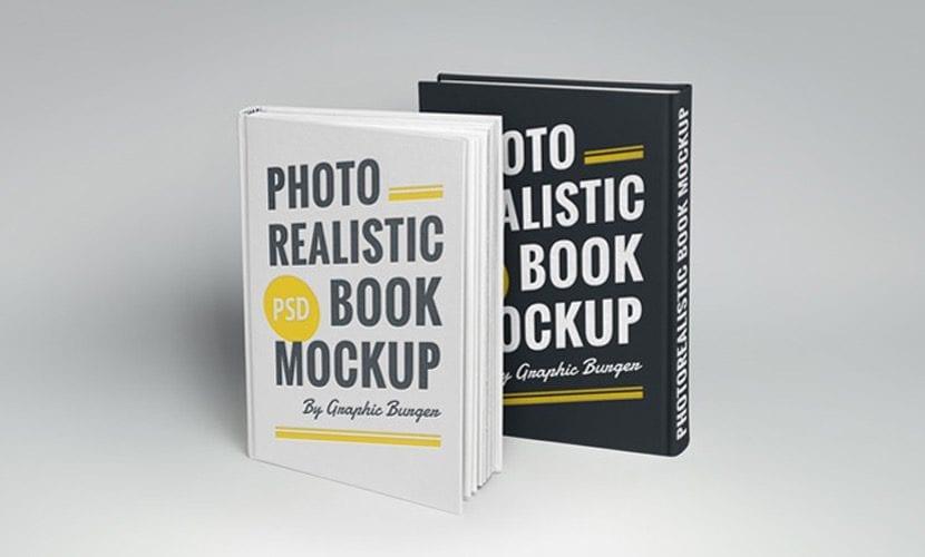 Mockup de libros