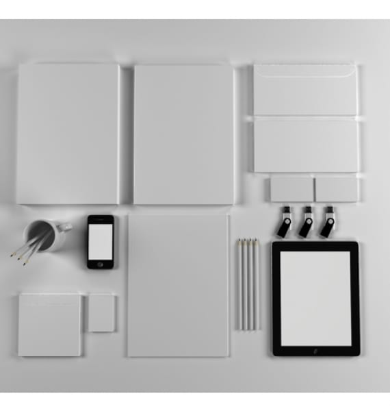 Branding, identidada corporativa - 10 mockups gratuitos