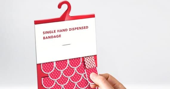 Dispensador de tiritas - Uno de los packaging más ingeniosos