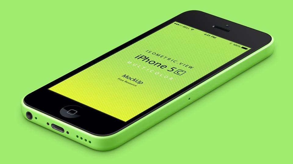 Vector del iPhone 5c