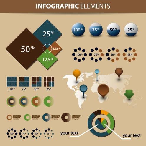 10 vectores para diseñar tu propia infografía