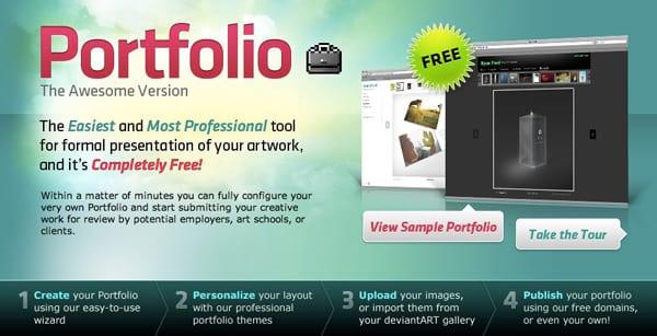 5 sitios donde puedes mostrar y crear tu portafolio