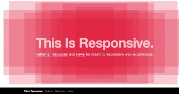 This is Responsive, para saberlo todo sobre diseño adaptativo