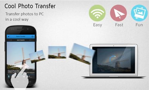 Cool Photo Transfer, transfiere fotos den móvil al PC vía WiFi