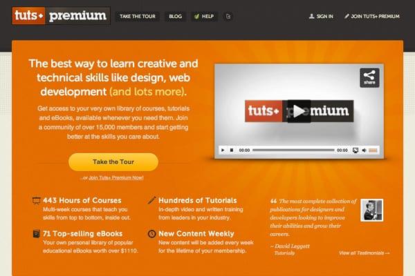 Webs Premium donde encontrar tutoriales para Photoshop
