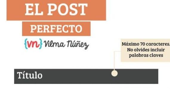 El post perfecto y otras 4 infografías útiles