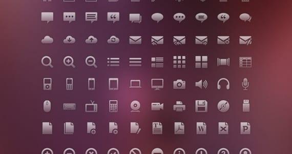 Pack de 120 iconos gratis