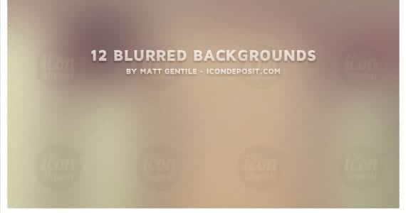 12 Blurred background