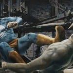 The Old Superhero, óleos de humor de Andreas Englund