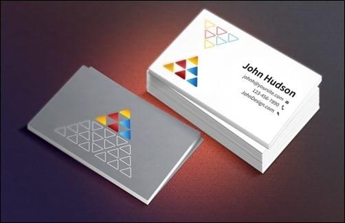 5 plantillas PSD gratis para tarjetas de negocio