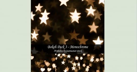 Bokeh con forma de estrella