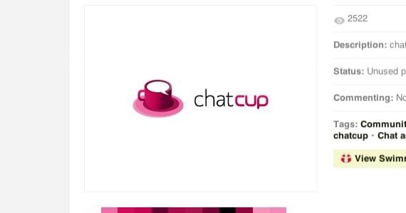 Chatcup, logotipo