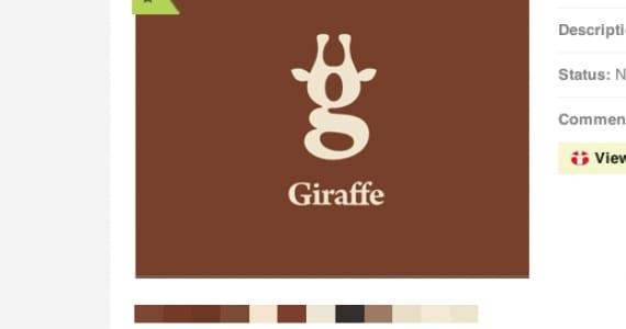 Girafa, logotipo