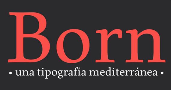 born-tipografia-española-y-gratuita