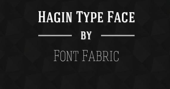 Hagin Typeface