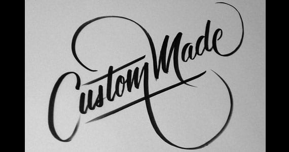 Custom Made, lettering de Neil Secretario