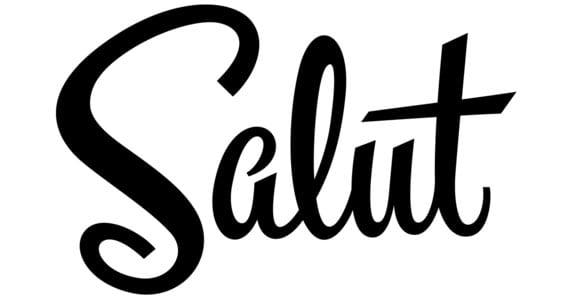 Salut, lettering de Drew Melton