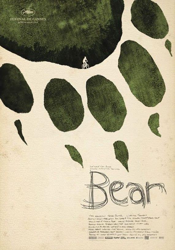 Diseño gráfico. Huella de oso