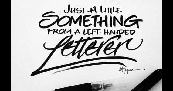 Lettering de Matthew Tapia