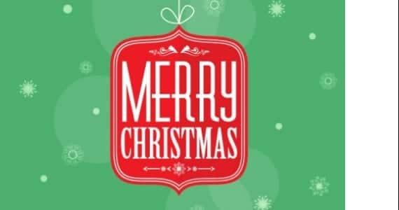 Merry Christmas, postal gratis