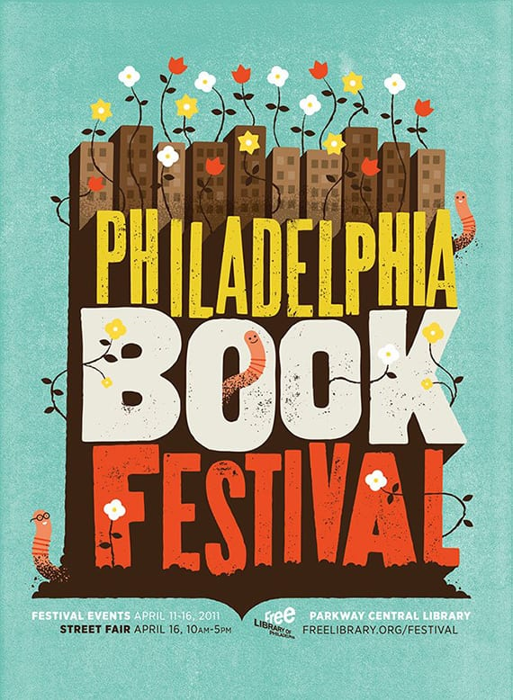 Philadelphia Book Festival de Mikey Burton