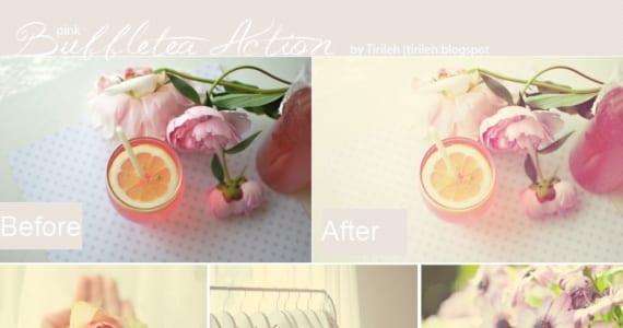 Pink Bubble Tea