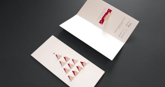 Postal de Navidad pop-up