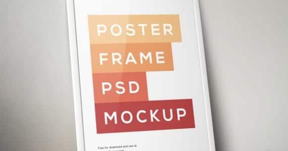 Poster con marco