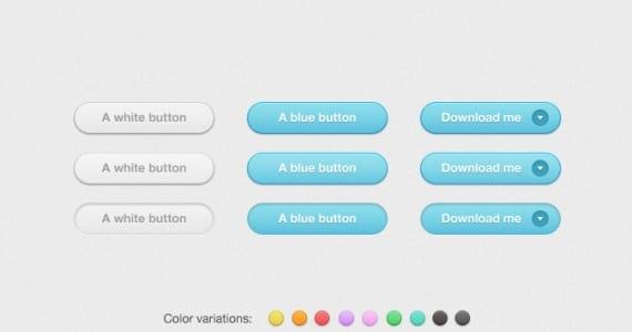 Botones redondeados